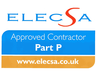Part P Registered, Elecsa Approved Installer